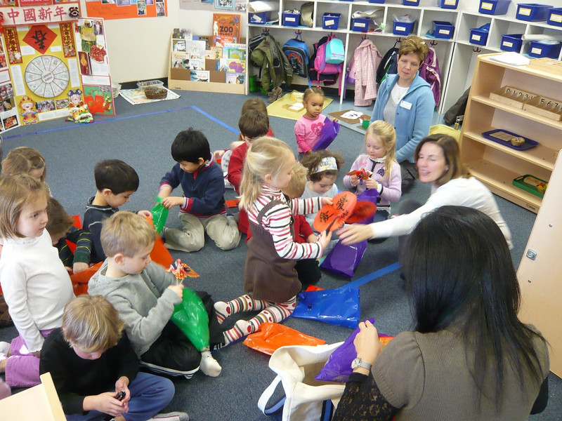 1/21/2009 Montessori Chinese New Year talk for Brandon's class