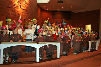 Pre=school Thanksgiving Pageant - 2007