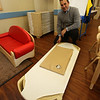 Rob Parsons gives a tour of the recently opened Primrose School on North Road in Chelmsford, which has infant day care through kindergarten.  These are the cots they use for nap time. (SUN/Julia Malakie)