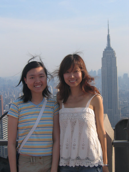 me, Fang and the Empire State Building