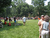 Cannon Green with the pre-P-Rade crowd.