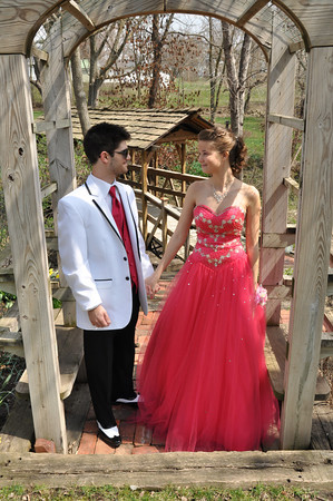 Prom 2013 Jenny and Taylor