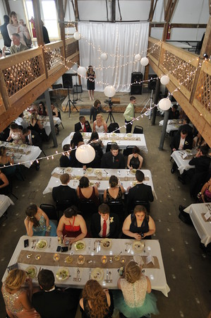 John P. Cleary | The Herald Bulletin<br />   Liberty Christian School's 2015 banquet was held this year at the Riley Party Barn Saturday evening.
