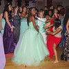 "Mark Maynard | for The Herald Bulletin<br /> Anderson High School students dance during their ""New York, New York"" themed prom."