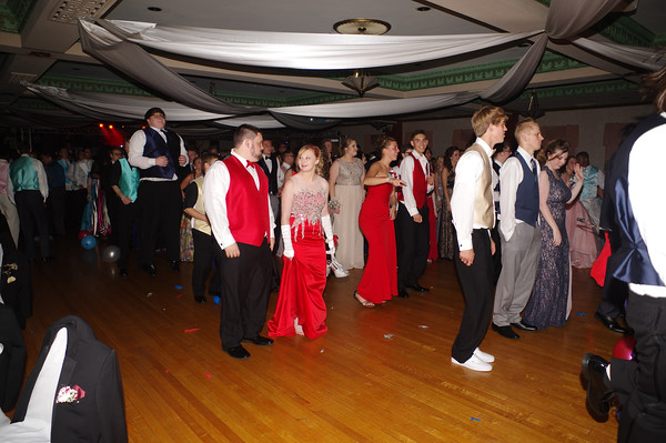 "Anderson High School held their 2016 Prom Saturday evening at the Paramount Theatre Ballroom. The theme for this year was<br /> ""New York, New York."""