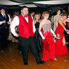 Mark Maynard | for The Herald Bulletin<br /> Anderson High School prom attendees dance to the music.
