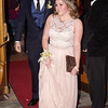 Mark Maynard | for The Herald Bulletin<br /> Austin Moore and Brittini Bargo enter the lobby of the Paramount Ballroom for the Anderson High School prom on Saturday evening.