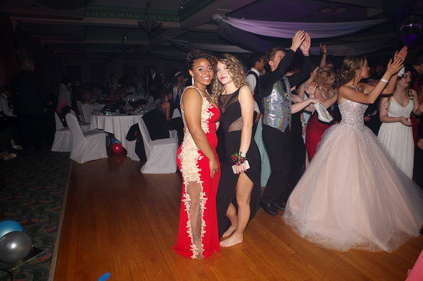 """Anderson High School held their 2016 Prom Saturday evening at the Paramount Theatre Ballroom. The theme for this year was<br /> """"New York, New York."""""""