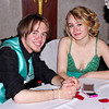 Mark Maynard | for The Herald Bulletin<br /> Taking a break during the Anderson High School prom are Jared Remington and Jasmine Arvin.