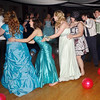 "Mark Maynard | for The Herald Bulletin<br /> Dancers form a conga line during the Anderson High School ""New York, New York"" prom at the Paramount Ballroom."