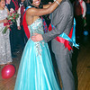 "Mark Maynard | for The Herald Bulletin<br /> Deondra Sutton and Wes Erny reign as Queen and King of the Anderson High School ""New York, New York"" prom at the Paramount Ballroom"