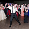 "Andy Gluff and Makala Lewis tear-up the floor dancing to ""Footloose"" at the Madison-Grant Prom."
