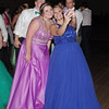 Snapping a selfie on the dance floor at the Madison-Grant Prom.