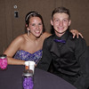 Megan Stowers and Trey Stokes take a break during the Madison-Grant Prom.