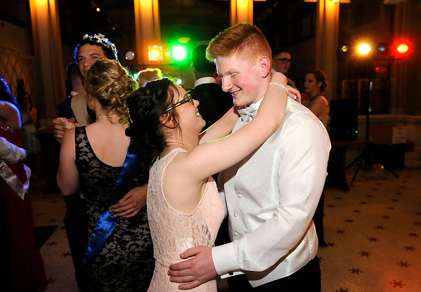 Don Knight   The Herald Bulletin<br /> APA held their prom at The Anderson Center for the Arts on Saturday.