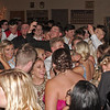 Drew Leisure takes a video selfie amidst the throng of dancers packing the floor at the Elwood High School Prom.