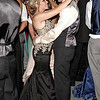 Briana Lewellen and Dane Johnson enjoy a slow dance during the Elwood High School Prom.