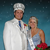 "Dakota Borders and Taylor Jones were crowned King and Queen of Elwood High School's ""Enchanted Forest"" themed prom."