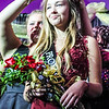 Photo by Chris Martin for The Herald Bulletin.  Frankton's 2017 Prom Queen Savannah Southerd is crowned. This years theme was Masquerade.