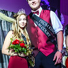 Photo by Chris Martin for The Herald Bulletin.  Frankton's 2017 Prom King Jake Richwine and Queen Savannah Southerd