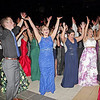 "Mark Maynard | for The Herald Bulletin<br /> Lapel High School prom attendees form the letter ""Y"" while dancing to the song ""YMCA."""
