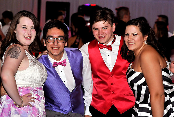 John P. Cleary   The Herald Bulletin<br /> The 2017  Madison-Grant High School Prom held at the Horizon Center in Muncie.