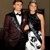 John P. Cleary | The Herald Bulletin<br /> The 2017  Madison-Grant High School Prom held at the Horizon Center in Muncie. 2017 Prom court members Garret Watson and Hannah Hawkins.