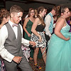 """Shenandoah High School students do the """"Cupid Shuffle"""" during their prom on Saturday night at the Anderson Country Club. (Mark Maynard photo)"""