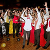 Mark Maynard | for The Herald Bulletin<br /> Shenandoah High School students crowd the dance floor during their Prom on Saturday night.