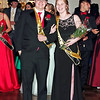 Mark Maynard | for The Herald Bulletin<br /> King Mark Riggs and Queen Harleigh Perry reign over the Shenandoah High School Prom.