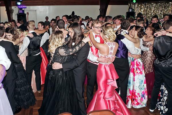 Mark Maynard   for The Herald Bulletin<br /> Slow dancing at the Shenandoah High School Prom.