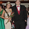 Mark Maynard | for The Herald Bulletin<br /> Madison Surface and Keegan Brown were crowned Junior Princess and Prince of the Shenandoah High School Prom.