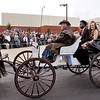 Lapel High School 2018 Prom.<br /> Preston Scott and Bre Baxter arrive at the Lapel Prom via horse and buggy.