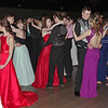 Mark Maynard | for The Herald Bulletin<br /> Madison-Grant prom attendees pack the floor for a slow dance.