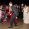 Mark Maynard | for The Herald Bulletin<br /> Madison-Grant prom attendees show-off their moves on the dance floor.