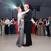 Don Knight | The Herald Bulletin<br /> Logan Long and Montana Patterson dance after being crowned King and Queen of Frankton High School's prom at The Factory on Saturday.