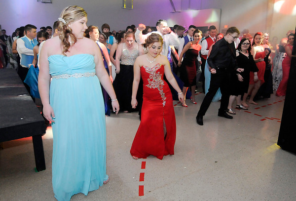 Don Knight   The Herald Bulletin<br /> Frankton High School held their prom at The Factory on Saturday.