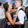 Don Knight | The Herald Bulletin<br /> Emma Wisman and Matt Ginder dance during the Frankton High School prom at The Factory on Saturday.