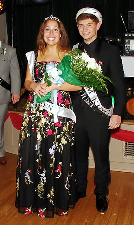 Queen Josie Moore and King Brandon Wood reigned over the Lapel High School Prom. (Mark Maynard photo)