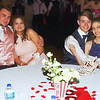 Zach Dziki, Erica Butler, Luke DesNoyers and Kristian Braden take a break from the dance floor during the Lapel HIgh School Prom. (Mark Maynard photo)