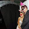 Lapel prom goers pose for a fun self-portrait in the photo booth on Saturday evening. (Mark Maynard photo)