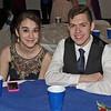 "Mark Maynard | for The Herald Bulletin<br /> Alyssa Norrick and Aaron Diaz enjoy a break during Alexandria-Monroe High School's ""Shine Bright Like a Diamond"" prom."