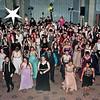 Mark Maynard | for The Herald Bulletin<br /> Alexandria-Monroe High School prom goers crowd the dance floor of the Opera House in Elwood on Saturday night.