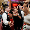 Don Knight | The Herald Bulletin<br /> Students crowd the dance floor as Elwood held their prom at the Elks on Saturday.