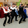 Don Knight | The Herald Bulletin<br /> Gatsby Gala was the theme for Elwood's prom at the Elks on Saturday.