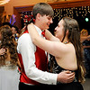 "Don Knight | The Herald Bulletin<br /> Students slow dance to the Brett Young song ""In Case You Didn't Know"" as Elwood held their prom at the Elks on Saturday."