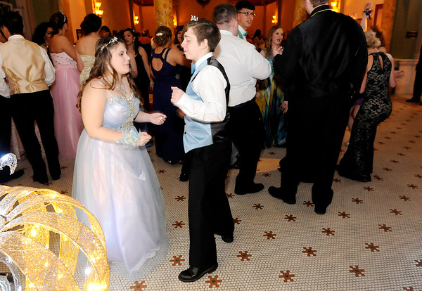 Don Knight   The Herald Bulletin<br /> APA held their prom Saturday at The Anderson Center for The Arts.