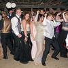 Mark Maynard | for The Herald Bulletin<br /> Elwood HIgh School prom attendees crowd the dance floor on Saturday night.