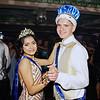 Queen Gabby Lopez and King Brodey Groover share a dance after their coronation at the Anderson High School Prom. (Mark Maynard photo)