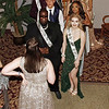 The members of the Anderson High School Prom Court prepare for the King and Queen coronation. (Mark Maynard photo)